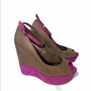 Jessica Simpson Platform Wedge Sandals Sz 8